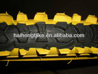 New pattern black and yellow color antiskid mountain bicycle tyre,road bike tyre for sale cheap