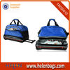 ColourfulCustomized safari 600D shoes compartment big size travel trolley bag