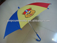 Auto Open Stick Safety Children umbrella-02