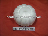 white foam hallowmas hanging pumpkin decoration