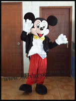 2013 In Red pants mickey mouse character mascot costumes