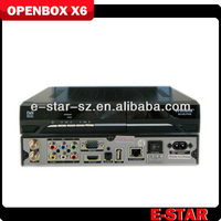 digital satellite Receiver (DVB-S2) OPENBOX X6 hd receiver