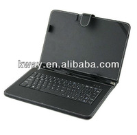 "Leather Case with Mini USB Interface Keyboard for 7""/8""/9.7""/10"" MID Tablet PC"