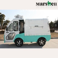 Marshell factory 4kw DC Electric Garbage Truck DHWQY-2 with CE approved