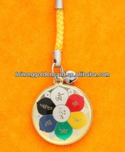 Popular Flower Shape Mobilphone Jjigger Cute Pendant