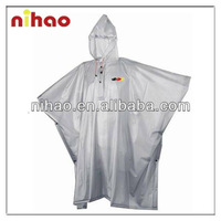 Cheap Clear Plastic Raincoat
