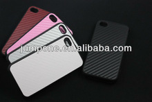 Two part Carbon fiber cover Case for iphone 4 4s 4g