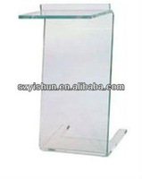 Customized acrylic lectern contemporary acrylic lectern