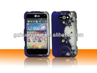 decal water printing design cell phone case for LG ms770