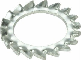 din 6798a external teeth serrated lock washer