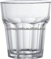 2013 Wholesale custom cup plastic bottles glass cup cover