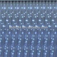 White Color LED Curtain Light for christmas and wedding decoration