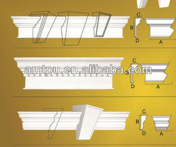 Exterior crown molding window decoration buy for Moulure fenetre exterieur