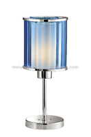 mini acrylic blue desk lamp for reading