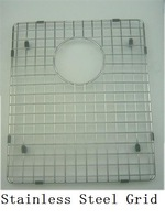 stainless steel wire bottom grid for kitchen sink