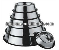 2013 hot selling stainless steel pet dog bowl