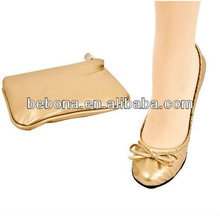 2013 hot selling ladies wedding favor ballerina with foldable style