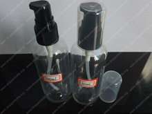 100ml PET nasal Clear medical plastic Spray Bottles