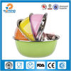stainless steel brand name colorful basin,salad bowl