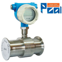 LWGY sanitary turbine flow meter /milk measuring instruments