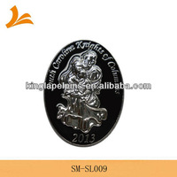 SM-SL009 knights and family 3d lapel pins