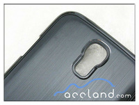 For Samsung Galaxy S4 i9500 Metal Case Brushed Metal Aluminum PC Bumper Hard Cover