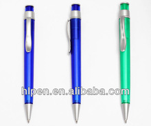 cheap price hot selling plastic pen with beautiful pen clip