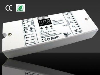 led rgb high power 4 ch dmx512 decoder 12-36vdc