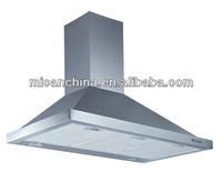 900mm stainless steel kitchen hood /range hood/cooker hood led light