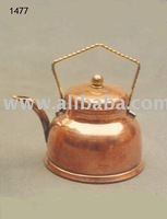 Copper small kettle, small tea kettle, decorative copper small tea kettle,