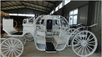 wedding cinderella horse carriages for sale used disc brake horse drawn carriage