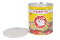 popular super metal chicken powder box
