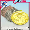 Wholesale gold silver copper medal metal medals