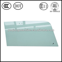 E-makr and DOT approved green tinted tempered glass in new condition
