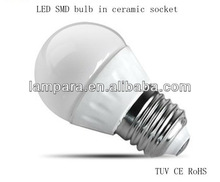 Ceramic Body and PC Cover Factory price Most cost-effective High Power warm white/cool white/pure white led bulb