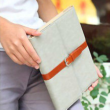 cheap decorative pu leather case for ipad 4 3 2