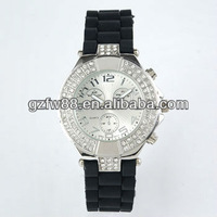 high quality fashion ladies watch with stone