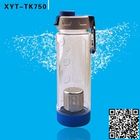 Low MOQ Sedex Walmart factory sell directly Promotion custom Pctg Tritan Bpa Free Filter Sports Drinking Water Bottle