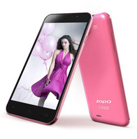 Pink Mobile Phone ZOPO C3 Pink MT6589T Smart Phone