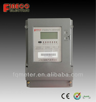 Three phase IEC standard Energy meter with load control