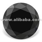 Certified 5.00CT Round Cut Real & Natural Black Loose Diamond