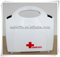 Wholesale Military Medical Personal Aid Kit White Hard Emergency Box Waterproof Outdoor Empty Box
