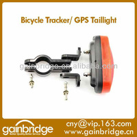 Spybike Tail light Bicycle GPS Tracker disguised as tail light to spy and protect and recover your Bicycle with GPS tracker