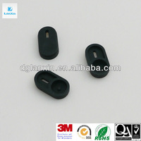 Rubber push button cover