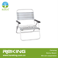 folding beach chair aluminum frame