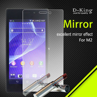 mobile phone accessory mirror screen protector for sony L36H