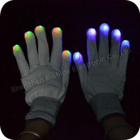 Skull Led Flashing Glove