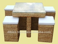 2012 Indoor Table Set New Designs/ wood frame table sets