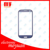 Blue Original Outer Glass Touch Screen for Samsung Galaxy S3 SIII I9300 Digitizer/lcd front lens
