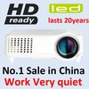 World first cheapest 1800 lumen HDMI HD cheap mini projector for sale